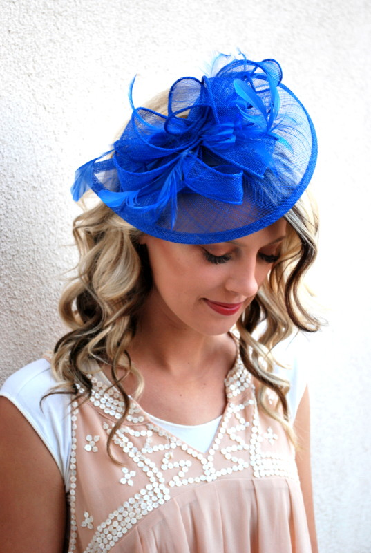 Tea Party Baby Shower Hats and Fascinators - Julia.Bee f9348f4be96