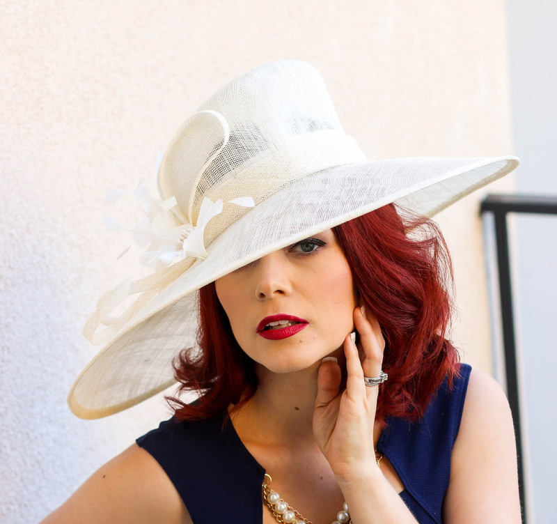 e7a522af76ec5 The Fascinator Comeback! What is a Tea Party hat called? - Julia.Bee