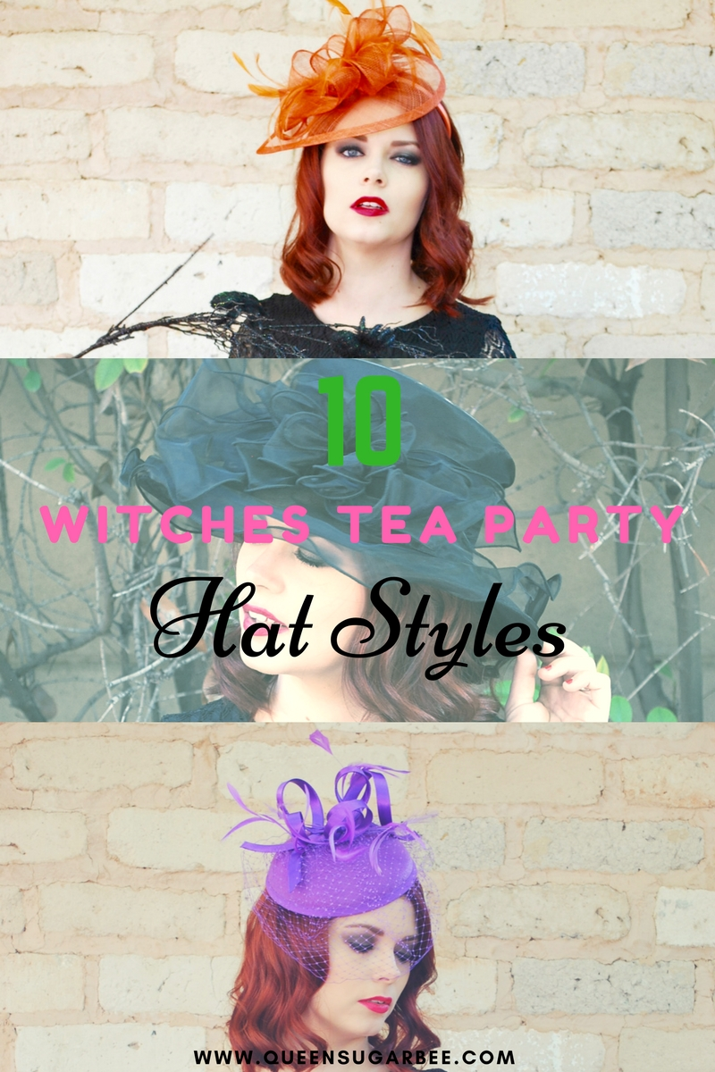 10 Witches Brew Tea Party Fascinator Hat Styles
